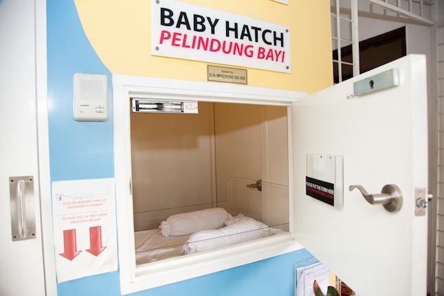 baby hatch tempat buang bayi luar nikah