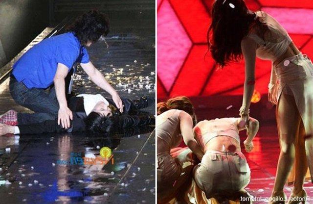 beberapa artis kpop sering pengsan ketika menjalani latihan dan konsert