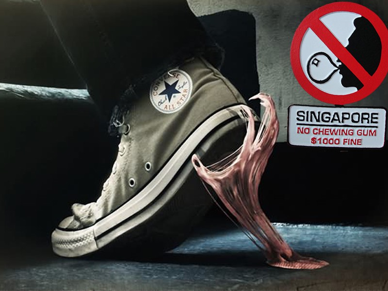 Image result for gula gula getah haram di singapura