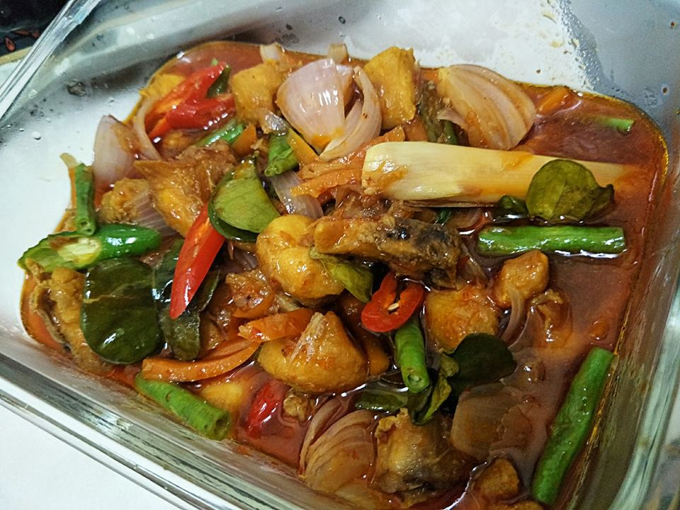 resepi sotong masak paprik simple resep masakan khas Resepi Nasi Goreng Paprik Thai Enak dan Mudah