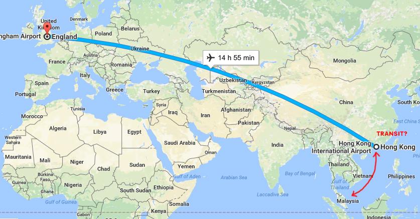 peta perjalanan daro meor