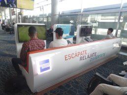 """Portão sala espera Aeropuerto """"El Dorado"""" Bogotá Colômbia 23"""