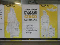 obra remodelação projeto Terminal 1 Colômbia Terminal