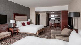Frankfurt Marriott Hotel Suite Ejecutiva Club