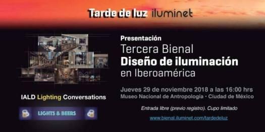 Terceira Bienal Iluminação Iberoamérica México Iluminet Prêmio