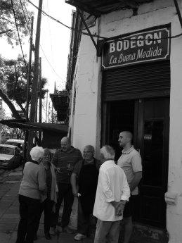La Buena Medida_La Boca_Bar Notable_Buenos Aires_B&W_8