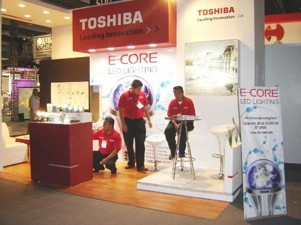 Estand de Toshiba