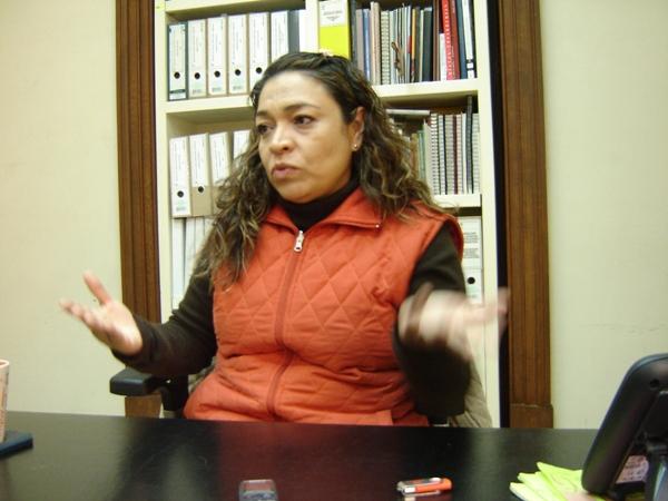 Ana María Lara Gutiérrez, directora de Licencias, Inspecciones y Registros de la Coordinación Nacional de Monumentos Históricos del INAH