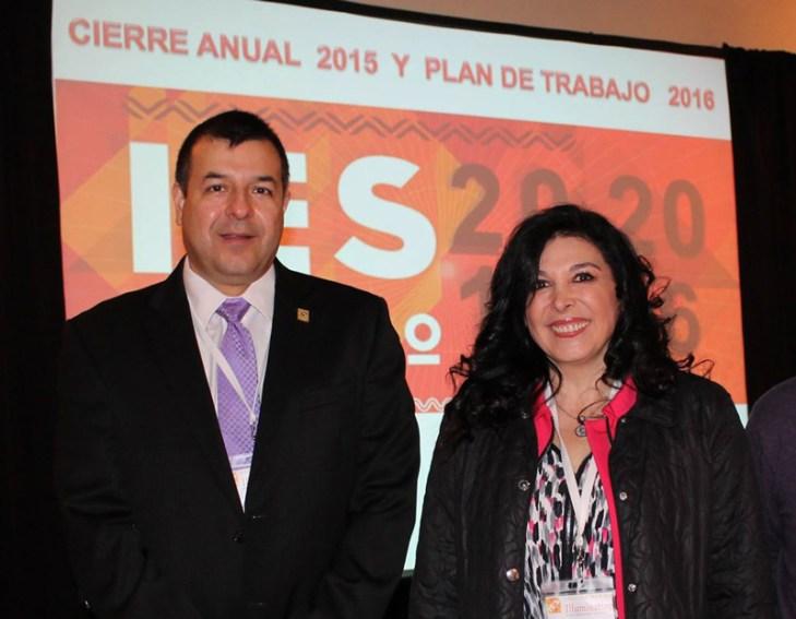 Antonio Garza y Liliana González