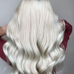 Blondid juuksed L'Alga vetikapõhise juuksehooldusega