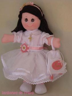 muñeca primera comunión5