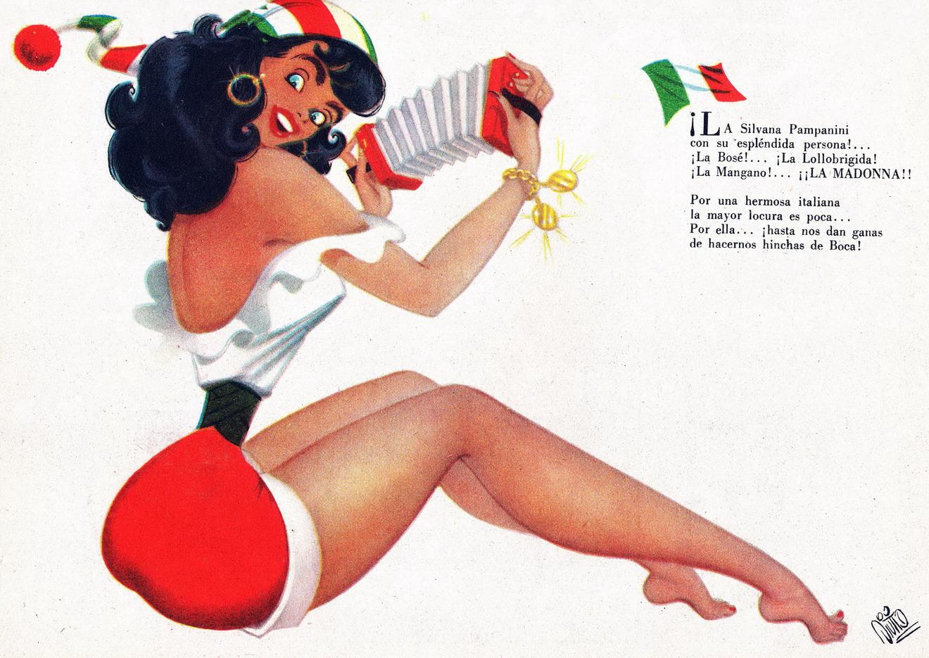 Las chicas de Divito  ARCHIVO DE ILUSTRACIN ARGENTINA