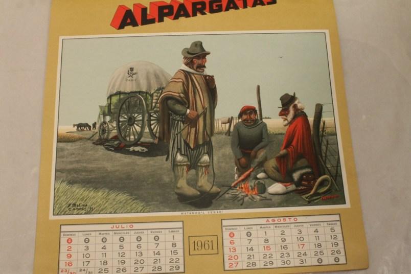Florencio Molina Campos  Almanaque Alpargatas  ARCHIVO