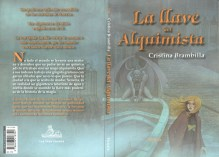 """Cubierta y contra para """"La llave del alquimista"""""""