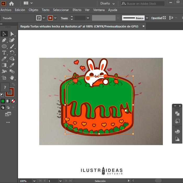 Dibujando en ilustrator