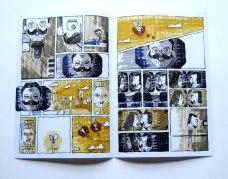 Banda Desenhada   desenho Pedro Sousa argumento Raquel Lopes
