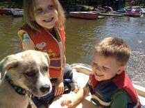 1st paddleboat ride