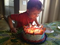Blow out the candles!