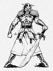 Lamia (male) - Vampires of Tonan