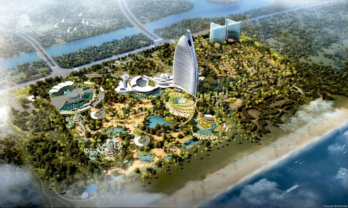 Atlantis Sanya Rendering