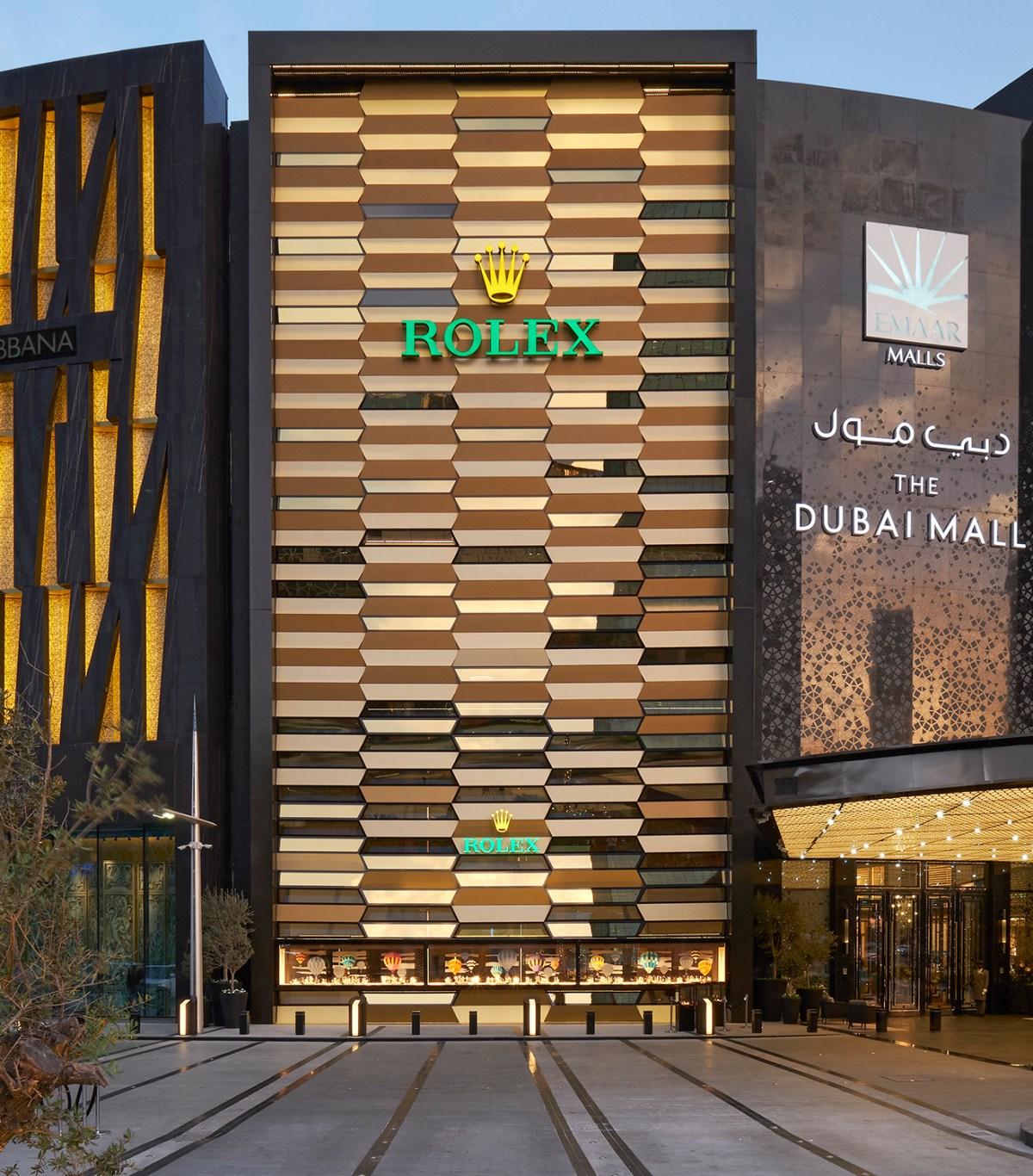 Rolex Dubai boutique