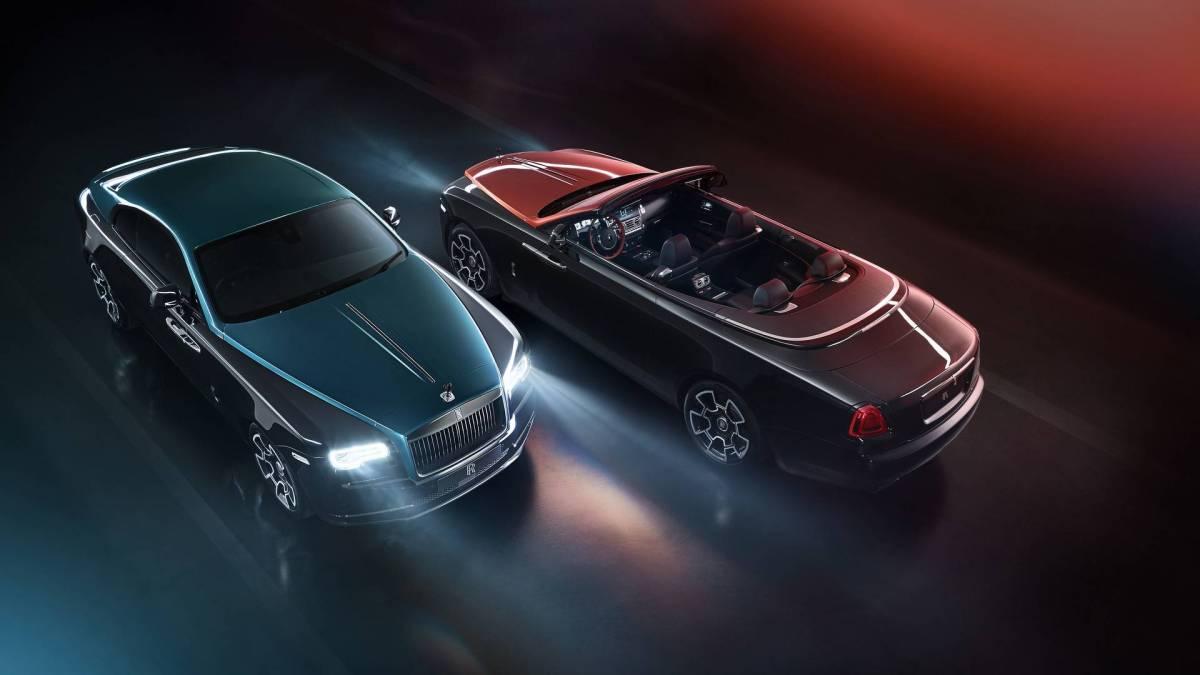Rolls-Royce Black Badge Dawn & Wraith
