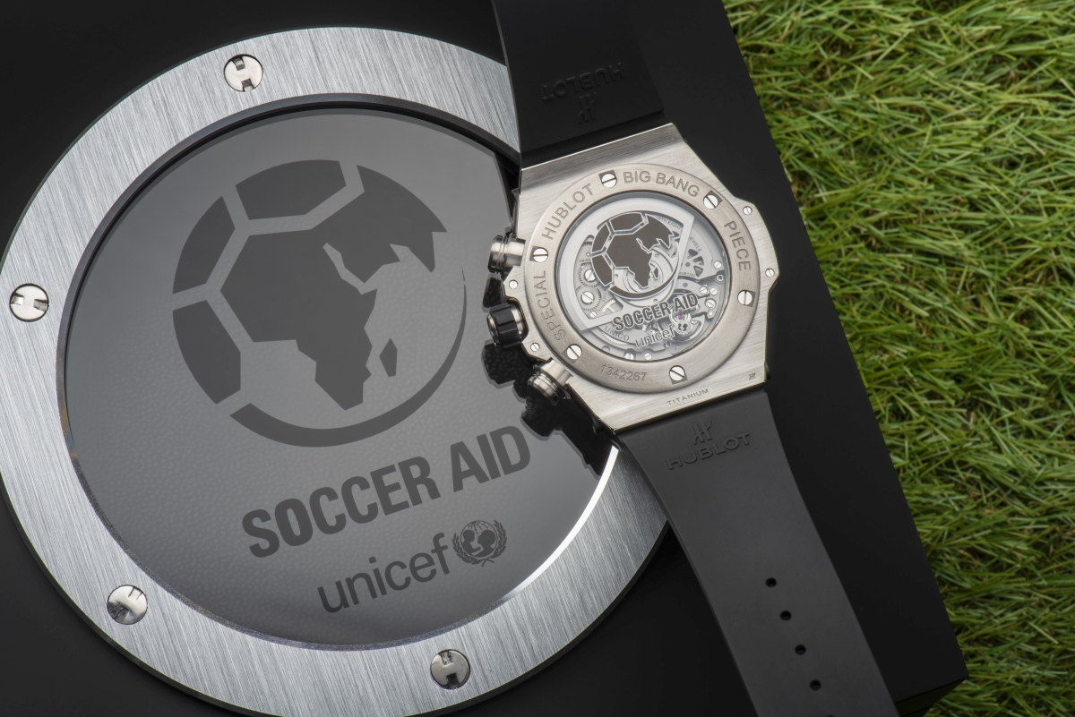 BIG BANG UNICO SOCCER AID UNICEF