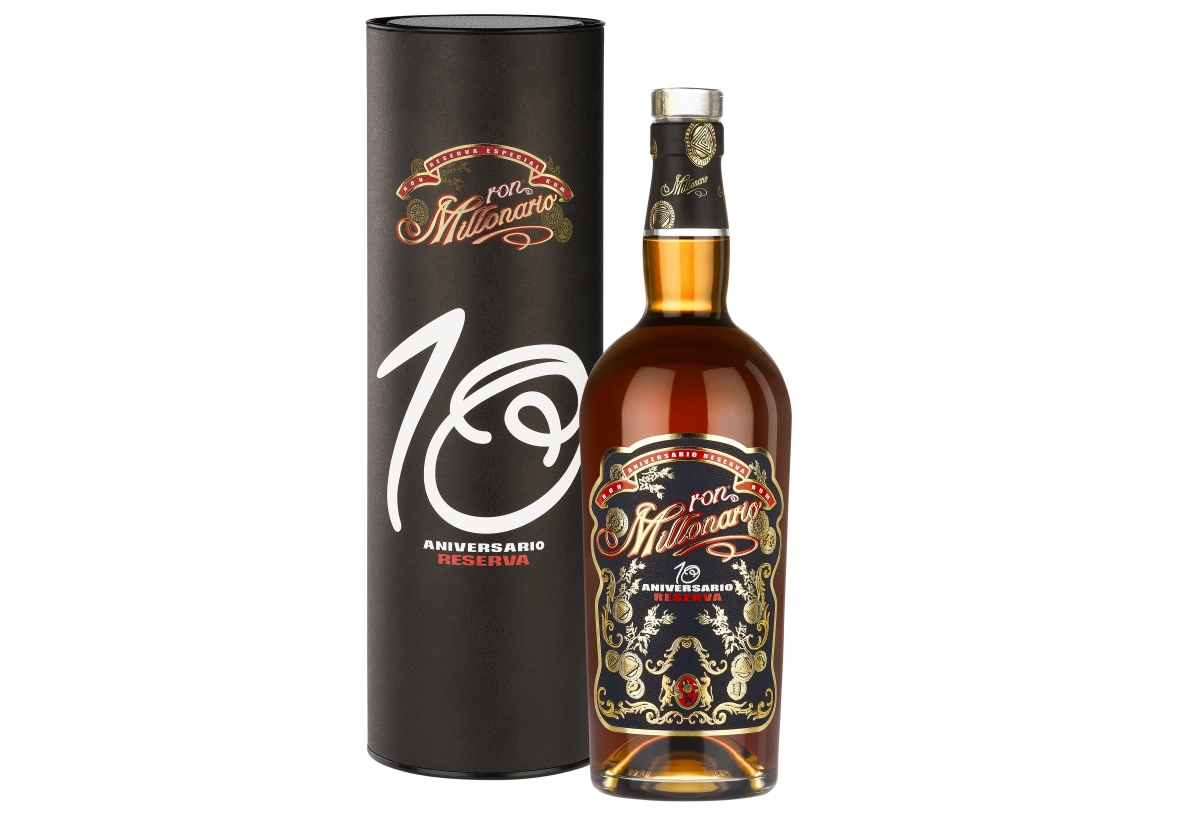 Dárkové balení rumu Millonario 10 Aniversario Reserva zakoupíte za 990 Kč, a to v karlínském obchodě Warehouse#1 nebo na www.warehouse1.cz