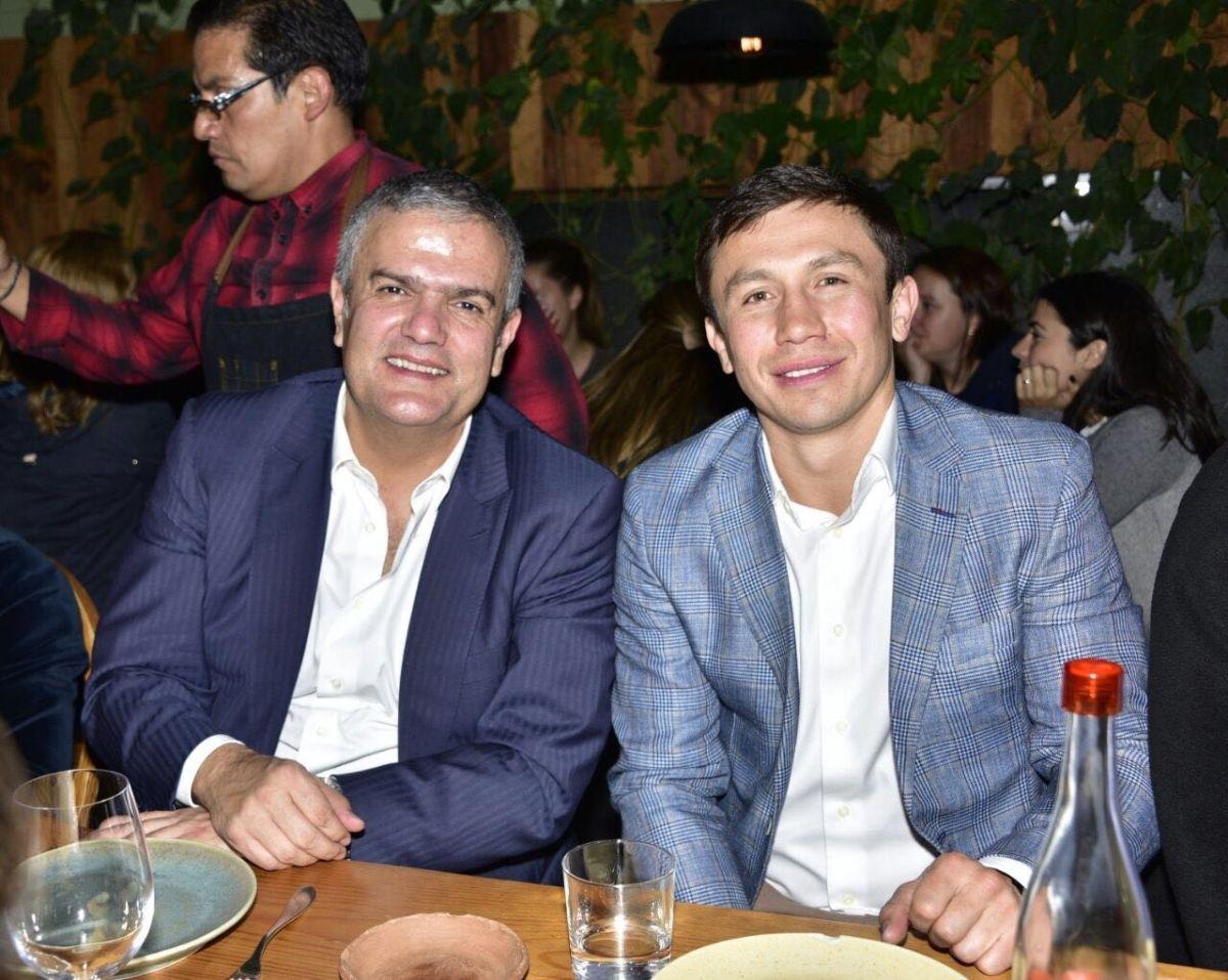 Ricardo Guadalupe and Gennady Golovkin
