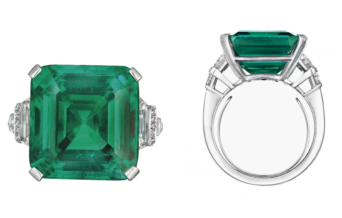 Rockefeller Emerald photo by Christie's