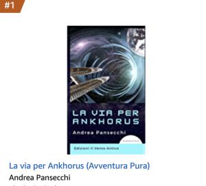 Read more about the article La via per Ankhorus bestseller tra i romanzi di fantascienza