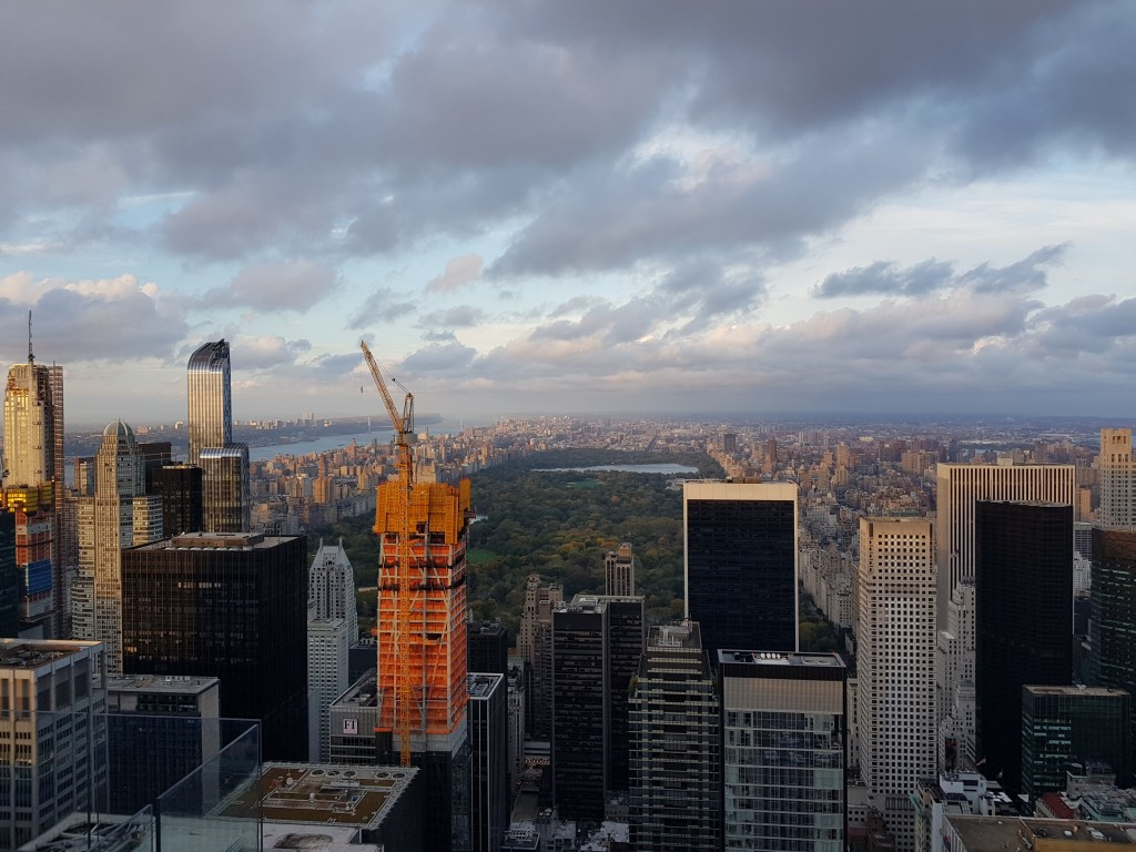 Tramonti imperdibili a New York: il tramonto dal Top of the Rock