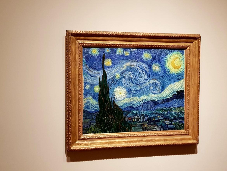 """La """"Notte Stellata"""" di Van Gogh, Moma NY"""