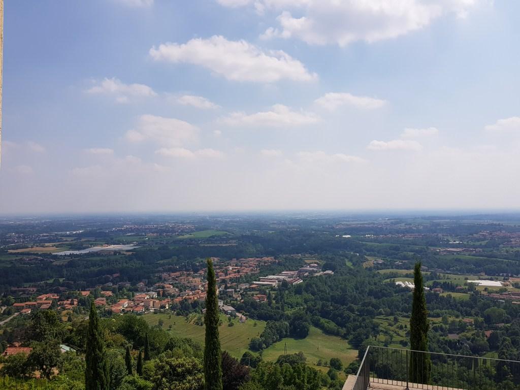 La vista da Montevecchia