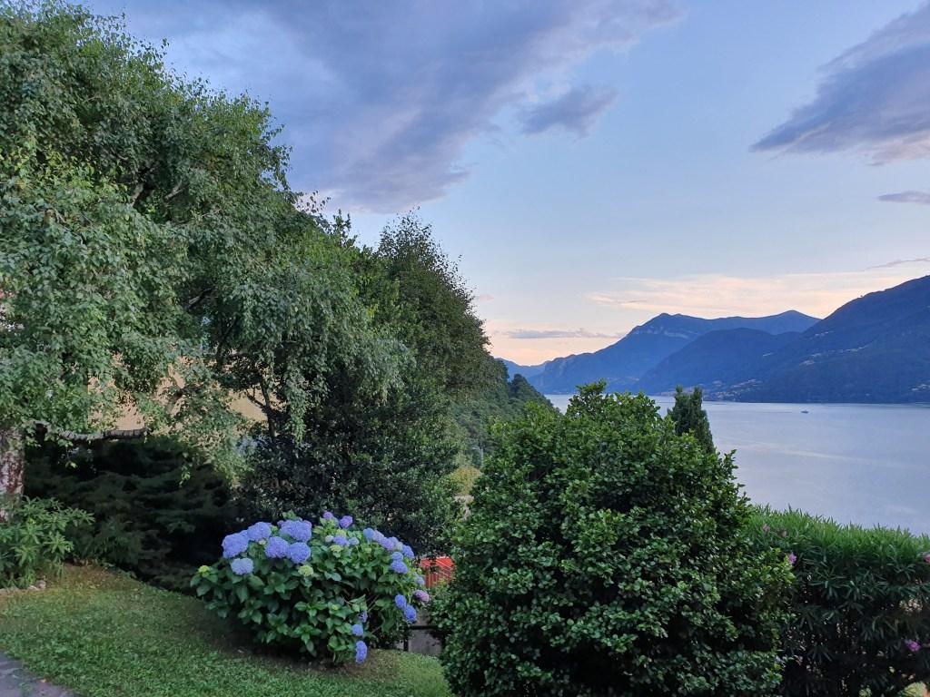 Il ramo di Lecco del lago di Como