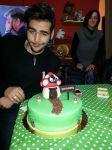 Ignazio's homecoming cake. credit Mundial