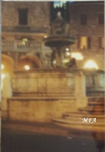 Town Square with the Lion Fountain Assisi