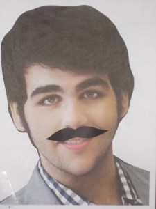 Pin The Mustache On Ignazio