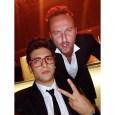 @barone_piero Instagram Piero and friend -Gala Telethon dinner - Rome 2014