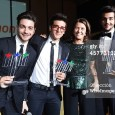 Venturelli Wireimages Ilk Volo with Gala Telethon mementos - Rome 2014