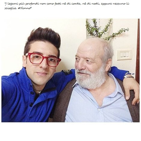 @barone_piero Piero and his Grandfather 2014