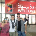 @barone_piero Instagram Barbara, Piero and Ignazio 2014 Abu Dhabi