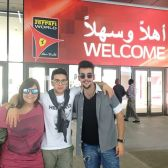 @barone_piero Instagram Barbara, Piero and Ignazio 2014 Abu Dhabi