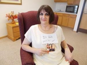 Laura's new t-shirt