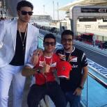 @ilvolomusic; LiJoy Il Volo - Formula 1 Grand Prix Abu Dhabi 2014