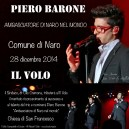 original artwork by All About Il Volo Notice of Piero's Ambassador Ceremony