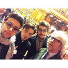 Elvis Mercury Facebook Il Volo and Manager Torpedine Rome