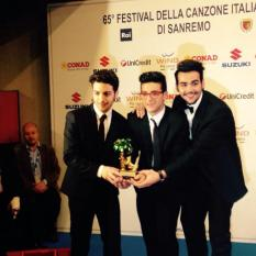 Cara Alexandra Contreras Il Volo Official photo/winners