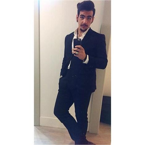 Ignazio's Instagram Ignazio - selfie - before the concert - Trieste - 2015