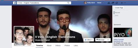 Il Volo English Translations Facebook